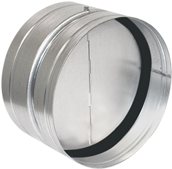 Ruck terugslagklep met afdichtingsrubber diameter 125 - RSK 125D