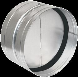 Ruck terugslagklep met afdichtingsrubber diameter 200 - RSK 200D