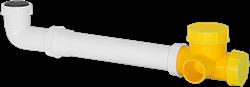 Ruck kogelsifon D4 voor ETA 600 H, 1200 H, 2400 H - SYS 01