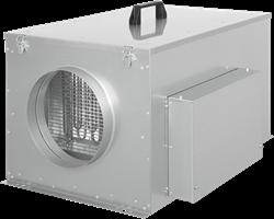 Ruck compacte luchttoevoerunit met verwarmingsbatterij en EC-motor 500m³/h - Ø125 - FFH 125 EC 10