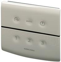Orcon alles-in-een pakket randaarde stekker MVS 15RHB 520m3/h + vochtsensor + rft bediening + 4 ventielen-3