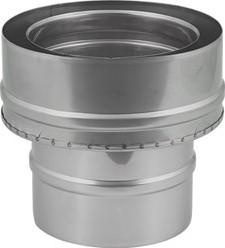 DW-EW diameter 130 mm (130/180) overgang I316L/I304 (D0,5/0,6)