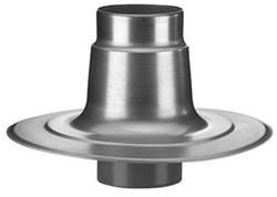 Plakplaat dubbelwandig aluminium 250mm voor ventilator Penn/Savonius
