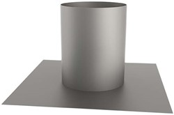 Plakplaat rond 125 mm (135) (sendzimir verzinkt)