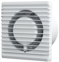 Badkamer ventilator Energiezuinig en Stil met Stekker en Schakelaar diameter 100 mm wit - 100PS-1