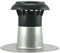 Platdak ontluchting met kunststof kap Ø110-125mm-1
