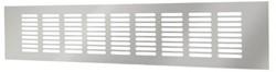 Plintrooster aluminium - zilver L=400mm x H=80mm -RA840S