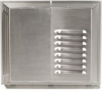 Muurrooster Air 70 RVS 450-500 (incl voorverwarmer)-1