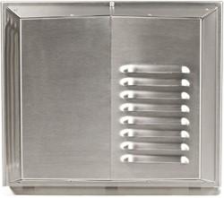 Muurrooster Air 70 RVS 450-500 (incl voorverwarmer)