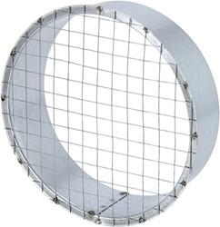 Buisrooster Ø 125 mm met gaas voor spirobuis