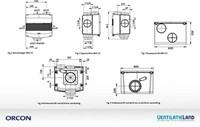 Orcon alles-in-een pakket randaarde stekker MVS 15R 520m3/h + rft bediening + 4 ventielen-1