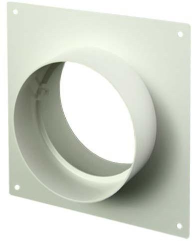 Ronde kunststof muurplaat diameter: 125mm AFS125