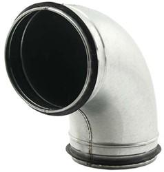Ronde spiro bocht 90° Ø 125mm voor spiraalbuis
