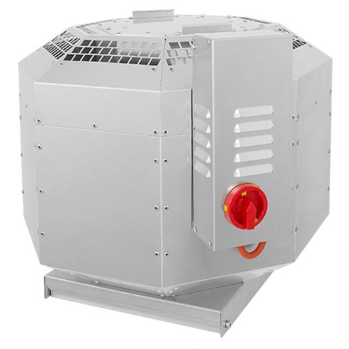 Ruck horeca dakventilator geluiddempend met EC-motor 5550 m³/h - DVNI 355 EC 30