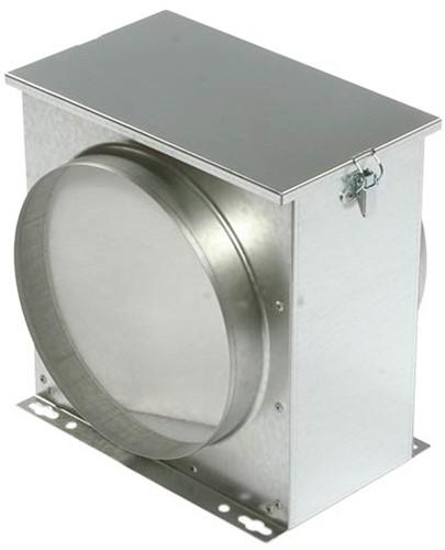 Ruck luchtfilterbox met vliesfilter diameter 315 - FV 315