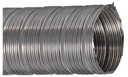 RVS starre flexibele ventilatieslang diameter 140 mm lengte 3 m