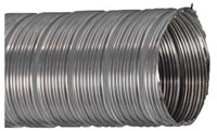 RVS starre flexibele ventilatieslang diameter 200 mm lengte 3 m