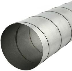 Spiraalbuis 80 mm L=3000 mm - rond gegalvaniseerd (extra verzendkosten)
