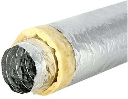 Sonodec akoestisch thermisch geisoleerde 127 mm ventilatieslang (5 meter)