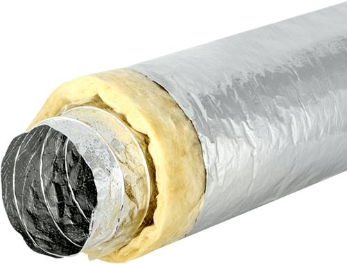 Sonodec akoestisch geïsoleerde 127 mm ventilatieslang (10 meter)