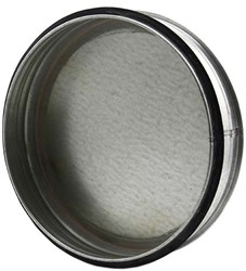 Spiro deksel diameter 80mm voor spiraalbuis