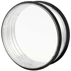 Koppelstuk diameter 125 mm voor spiraalbuizen