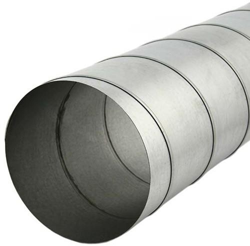 Spiraalbuis diameter 150 mm lengte 1.5 meter van verzinkt staal