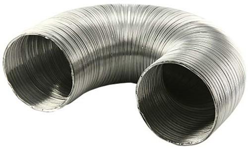 Starre aluminium ventilatieslang diameter 80 mm lengte 1.5 meter-2