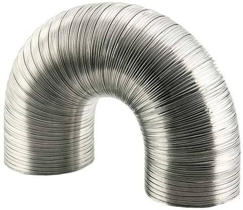Starre aluminium ventilatieslang rond Ø 120mm lengte 3 meter