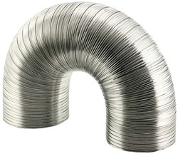 Starre aluminium ventilatieslang rond Ø 80mm lengte 3 meter