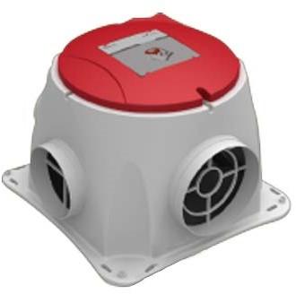 Zehnder Stork alles-in-een pakket Comfofan S R ventilator euro stekker + RFT zender + 4 ventielen-2