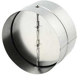 Terugslagklep diameter Ø125mm voor spiraalbuis