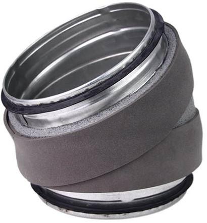 Thermoduct bocht 30 graden diameter 180 mm