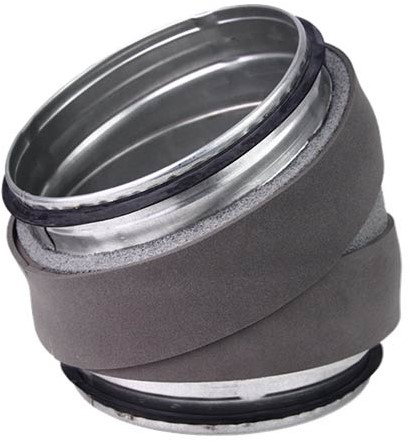 Thermoduct bocht 30 graden diameter 200 mm
