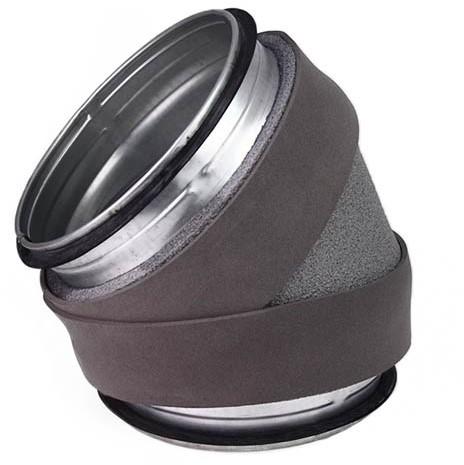 Thermoduct bocht 45 graden diameter 355 mm