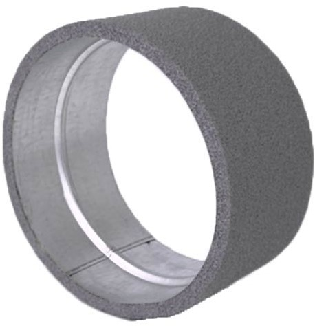Thermoduct verbindingsmof voor hulpstukken diameter 125 mm geisoleerd