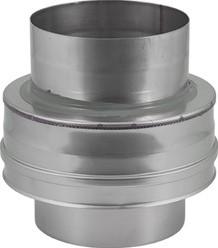 DW diameter 80 mm (80/130) Topstuk EW I316L/I304 (D0,5/0,6)