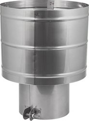 Trekkende kap diameter 500 mm I316L (D0,6)