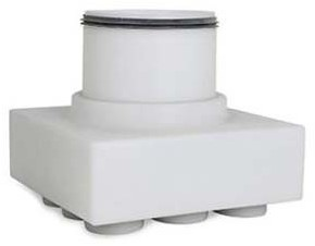 Vent-Axia Uniflexplus ventilatie subverdeelbox 9x diameter 63 mm met tuit diameter 180 mm