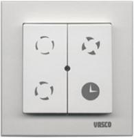 Vasco alles-in-een pakket C400 LE + draadloze bediening + 4 ventielen + 400m3/h-3