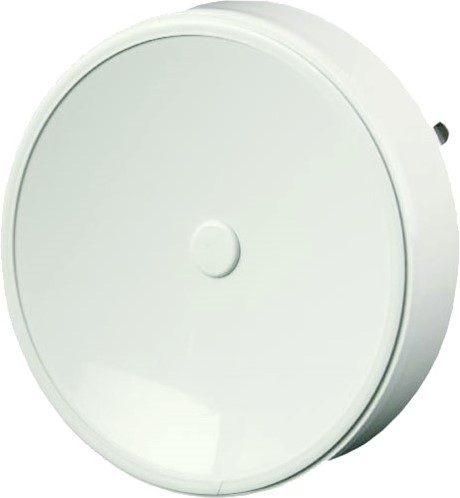 Ventilatie toevoerventielen kunststof 125 mm wit met klemveren en schone sector - VST125