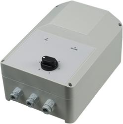 5-stappen transformator MONOFASIG 1,5 A incl. thermocontactbeveiliging en gasklepsturing - RSA5E-1,5-T