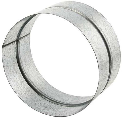 Verbindings mof 125 mm voor spiro toebehoren en hulpstukken