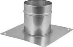Vloerplaat diameter  310 - 400 mm opstand I304 (32014368)