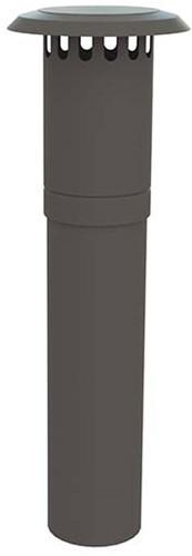 WTW HR dakdoorvoer Thermoduct geïsoleerd 355mm