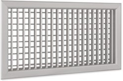 Wandrooster A-1-1 1200x100-H-RAL9010 instelbaar