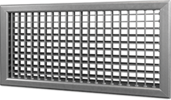 Wandrooster B-2-1 200x200-H instelbaar