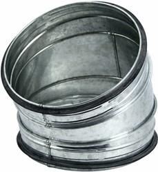 Ronde spiro bocht 30° Ø 160 mm voor spirobuis