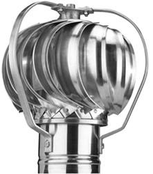 Windgedreven ventilator Penn 100mm aluminium - 28m3/h