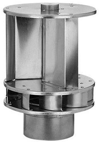 Windgedreven ventilator Savonius 150mm aluminium - 72m3/h